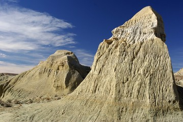 Cheminées en Patagonie