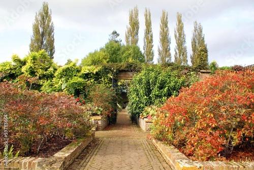 entrance. pathway