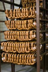 Готовая продукция на складе мясокомбината