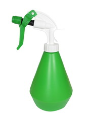Spray bottle for wash cleaning and horticulture isolated