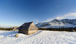 Shelter in Polish High Tatra mountains