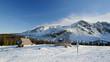 Polish Tatra mountains in winter