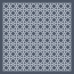 Retro geometric seamless pattern