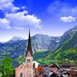 Hallstatt - beautiful alpine village,Austria