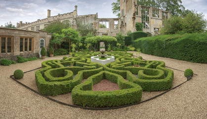 Sudeley Castle garden