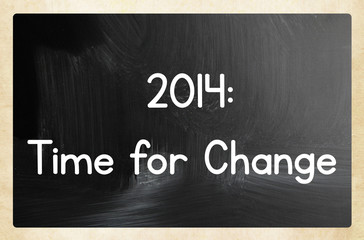 2014: time for change