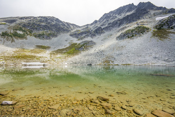 Blackcomb Lake at Blackcomb Mountain, Whistler, Canada