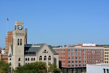 Skyline of downtown Sioux City Iowa