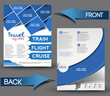 Vector Travel brochure, flyer, & poster template