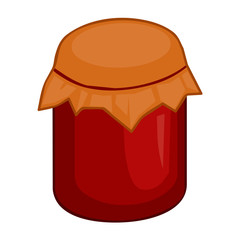 jar isolated illustration