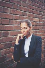 Pensive female