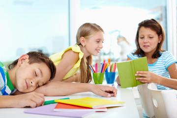 Rest in school