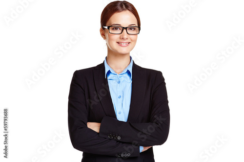 Elegant businesswoman
