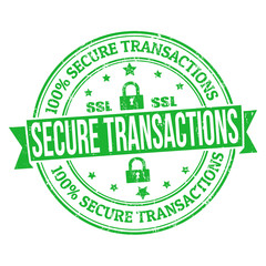 Secure transactions stamp