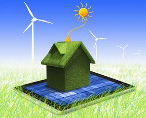 Go Green, Alternative Energy, Concept