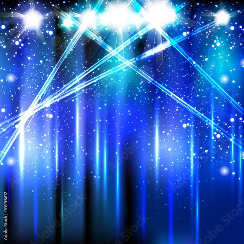 In de dag Licht, schaduw Vector Stage Spotlight