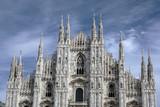 Facade of Cathedral Duomo, Milan