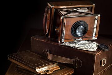 antica macchiana fotografica a lastre