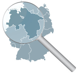 Deutschlandkarte_Nierdersachsen