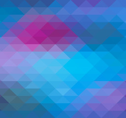 Geometric Triangle Neon background, pattern, vector, spectrum