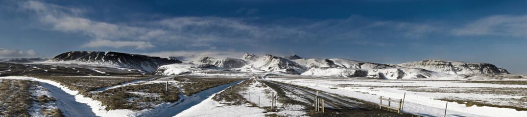 Iceland Glacier Panorama