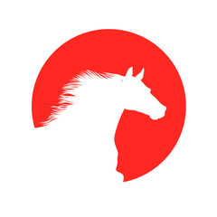 Horse. vector file