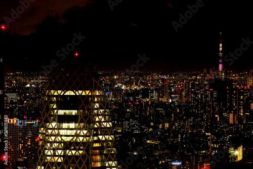 東京の夜景(東京スカイツリー)