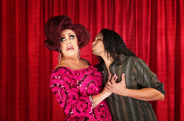 Disgusted Female Impersonator