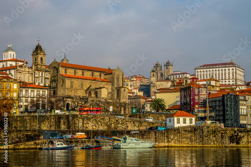 many-coloured Porto
