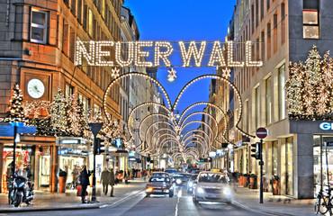Hamburg, Neuer Wall.