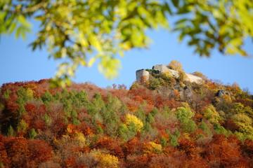 Burgruine Hohenurach / Schwäbische Alb im Herbst