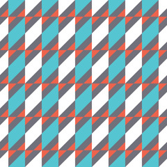 Seamless colorful geometry pattern