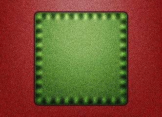 Green&Red denim background