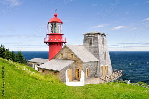 Pointe a la Renommee lighthouse, Quebec (Canada)