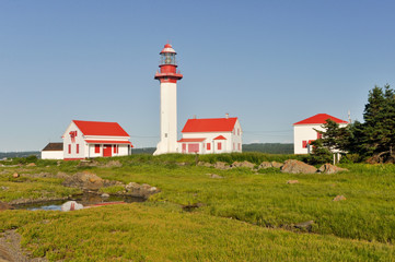 Pointe de Mitis Lighthouse, Quebec (Canada)
