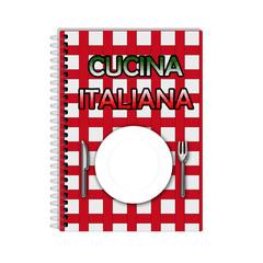 Libro di cucina italiana