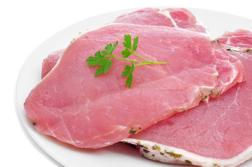 raw pork sirloin