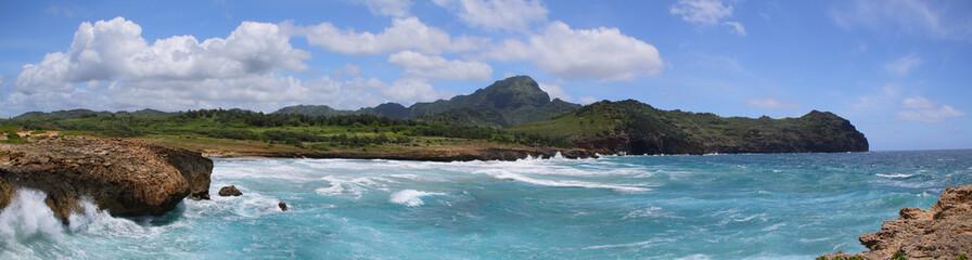 mahaulepu trail near  Poipu, Kauai