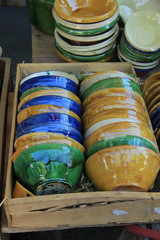 Artisanal pottery from the Provence