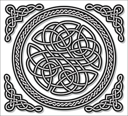 Celtic love ornament (gordian knot)