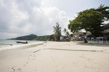 View of Sunrise Beach on Koh Pha Ngan; Thailand