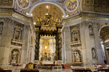 Saint Peters Cathedral in Vatican