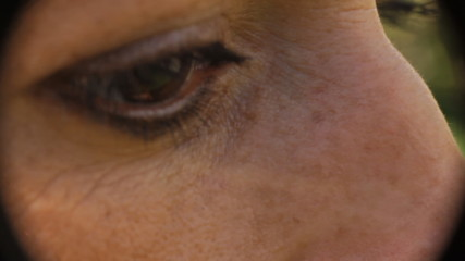 Eye macro woman daylight natural