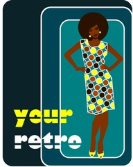 retro black woman