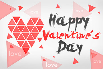 Happy Valentine's Day Simple Card