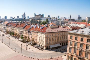 Krakowskie Przedmiescie street in Warsaw