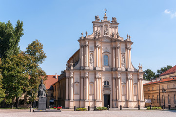 Visitationist Church in Warsaw, Poland