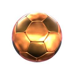 Fußball bronze - einfach
