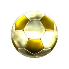 Fußball gold - einfach