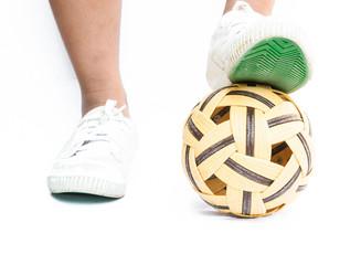 rattan ball